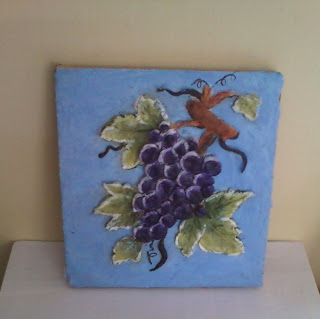 Anitakumarcrafts ceramic fruit mural for Ceramic mural tutorials
