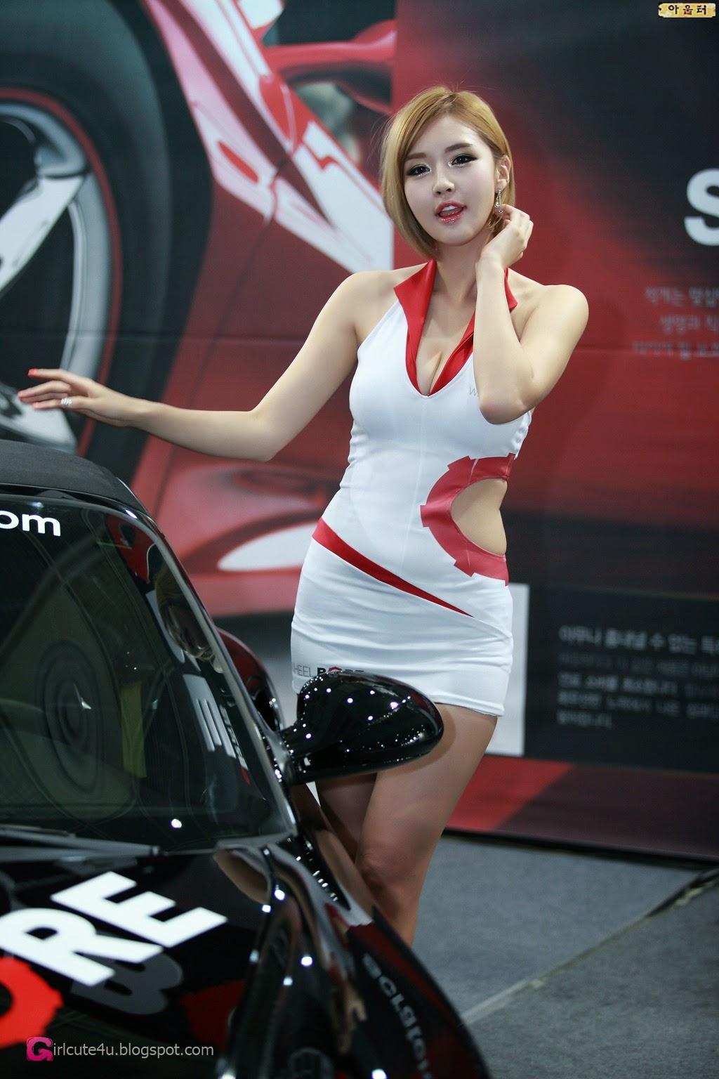 2 Choi Byeol Ha - Seoul Auto Salon 2014 - very cute asian girl-girlcute4u.blogspot.com