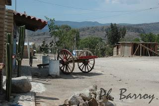 paysages mexique Oaxaca Hierve el Agua casacade western