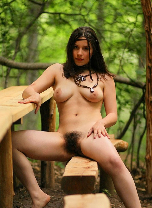 Hairy Naked Hippie Girls Nude