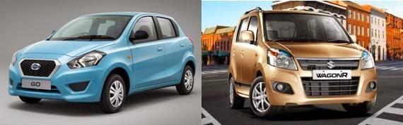 Datsun Go vs WagonR Comparison