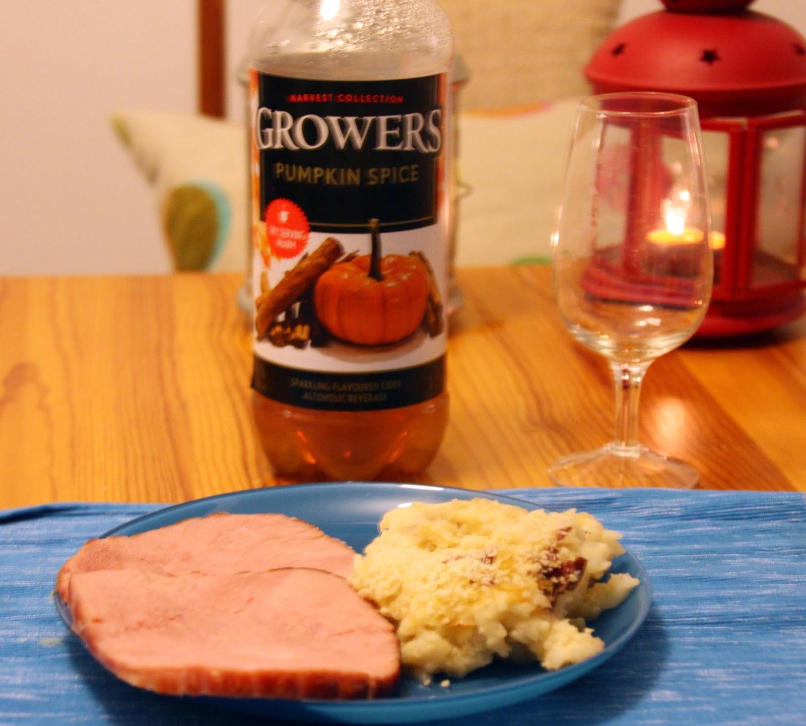 Grower's Pumpkin Spice cider
