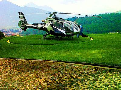 Santo Domingo del Cerro o Parque Cultural Efraín Recinos en  La Antigua Guatemala.