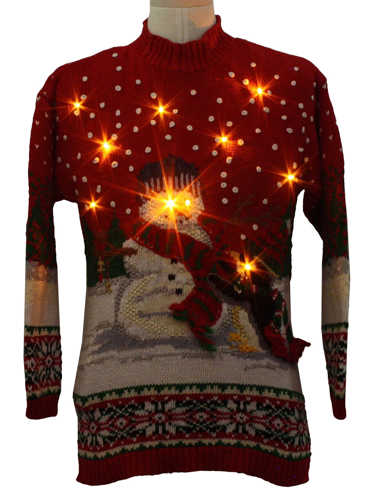 Ugly Dinosaur Christmas Sweater