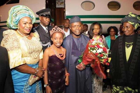 VP Osinbajo in Zambia