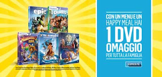 McDonald's DVD omaggio Happy Metal