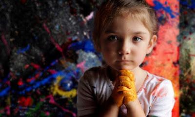 Cuadros Abstractos De La Niña Australiana