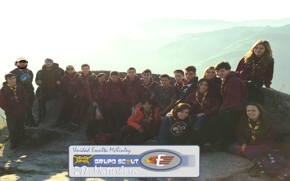 Unidad Esculta McKinley   -  Grupo Scout 217 Matterhorn