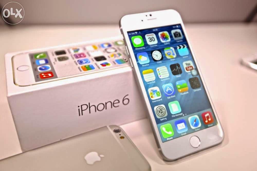 Мобильный телефон Apple iPhone 6 Plus 128 Гб Silver с мощным двухъядерным процессором Apple A8