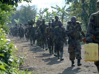 Rwanda soldiers fighting in  DR Congo,