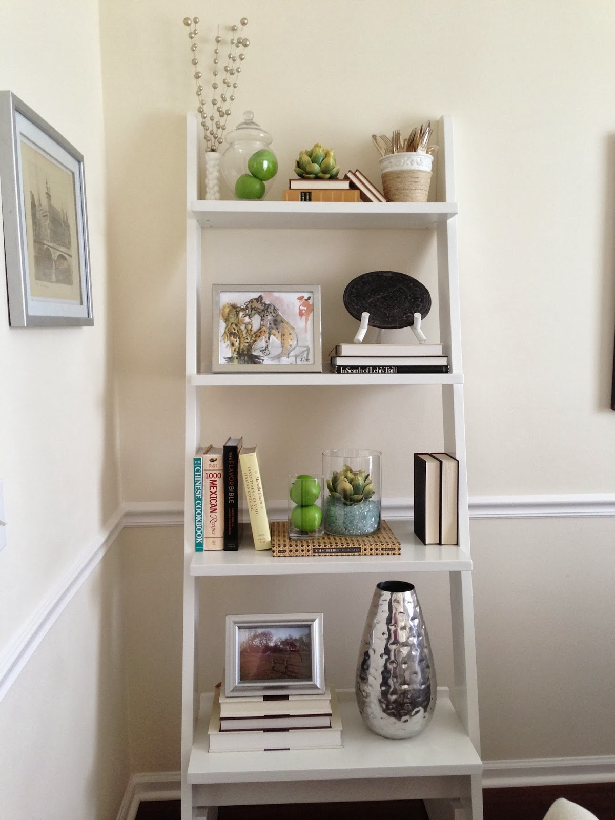 inside out design dining room update shelves are finished
