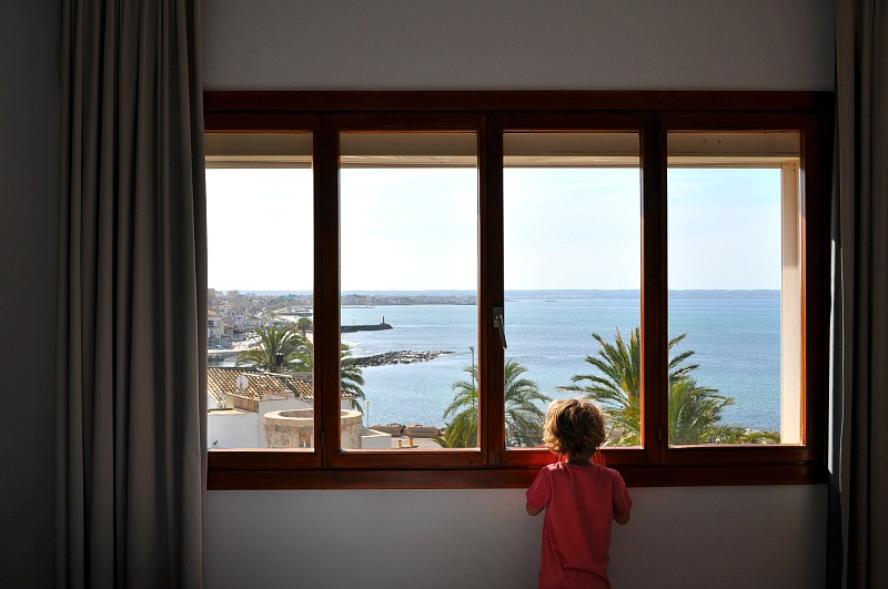Sea views at the Portixol Hotel