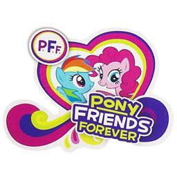 MLP Pony Friends Forever Brushable Figures