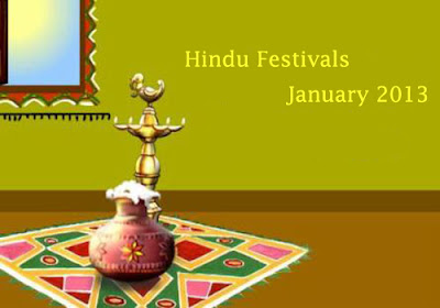 January 2013 Hindu Festivals Calendar | Hindu Devotional Blog