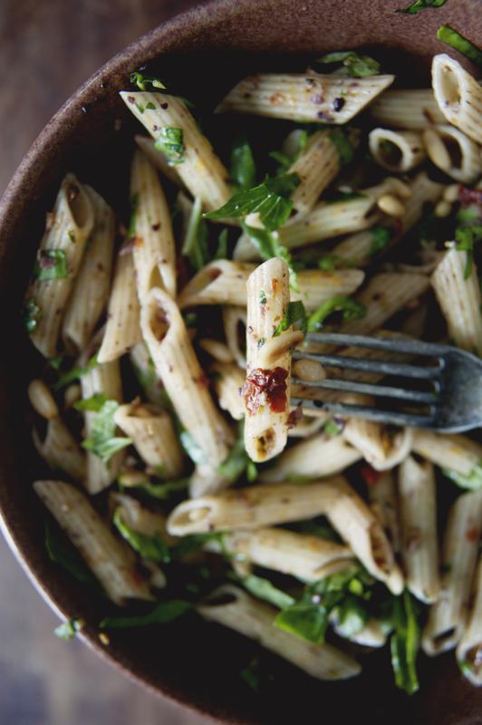 Roasted vegetable pasta recipe claire thomas