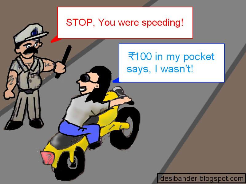 DesiBander: Indian Traffic Police