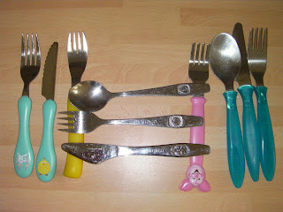 childs cutlery collection