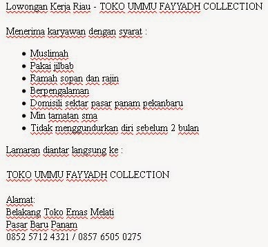 TOKO UMMU FAYYADH COLLECTION