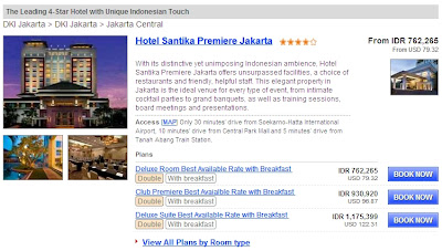 Hotel Santika Premiere Jakarta pegipegi.com