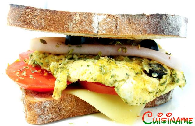 sandwich, sandwich gourmet, tortilla, pavo, recetas originales, recetas de cocina, curiosidades, humor, chistes