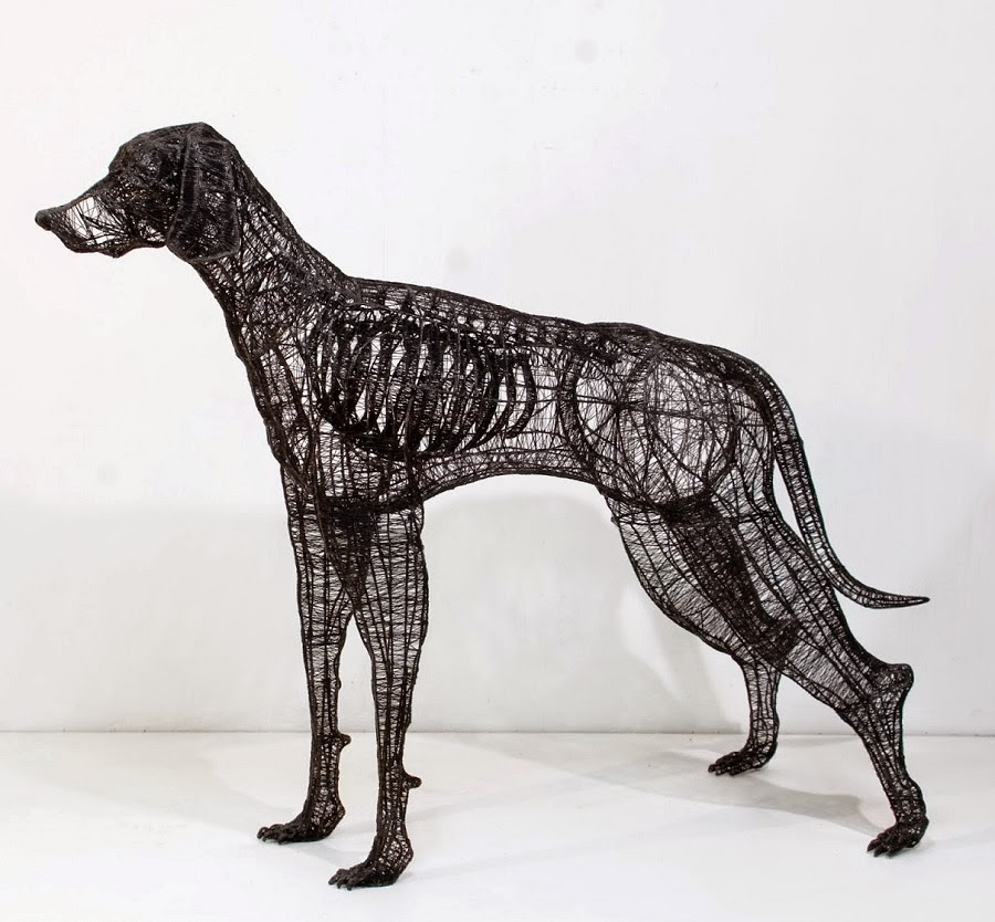 Simply Creative: Thread and Wire Sculptures by Yong Won Song
