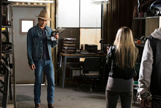 Raylan Givens in episode 1, series four of Justified