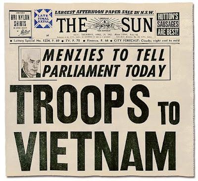 Portada inicio Guerra de Vietnam