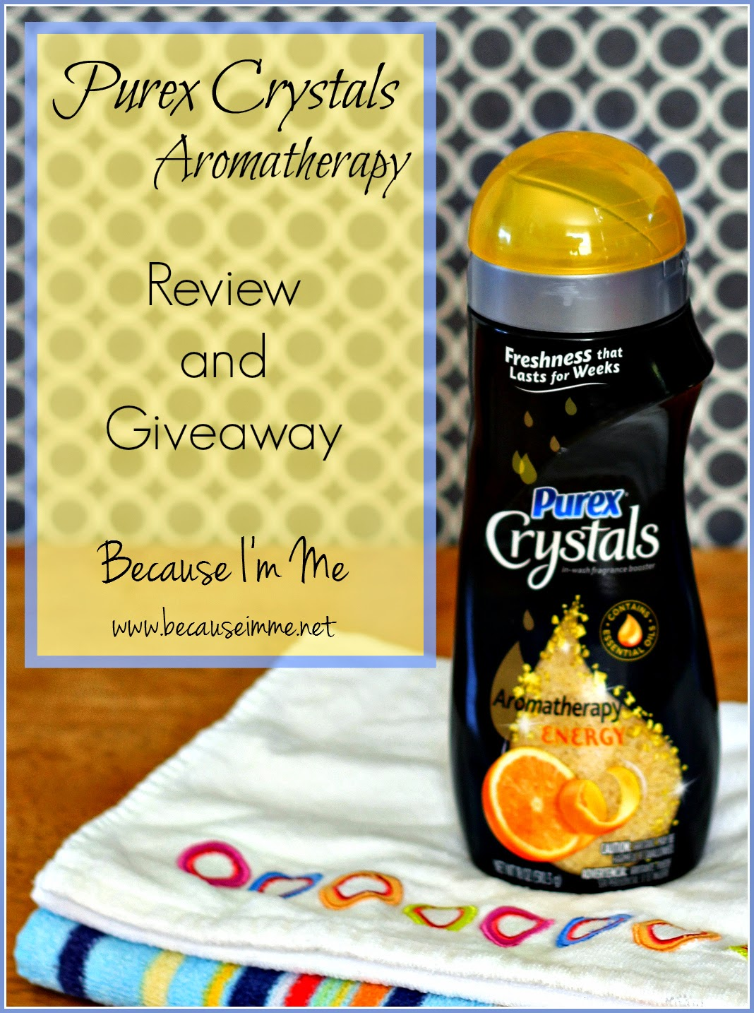 Because I'm Me Purex Crystals Review and Giveaway
