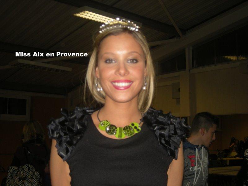 Mon collier porté par miss Aix en Provence