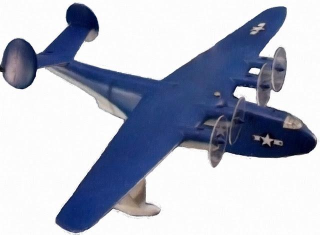 MartinMars flying boat prototype model photo