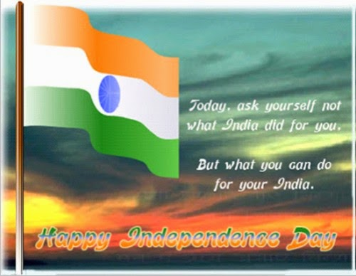 Happy Independence Day India 2014 Speech