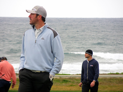 Detroits Tigers Pitcher Justin Verlander at the AT&T Pebble Beach National Pro-Am Golf Tournament