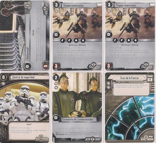 Expansión Star Wars LCG: Ciclo de Ecos de la Fuerza - Únete a nosotros o muere ¡Refuerzos!