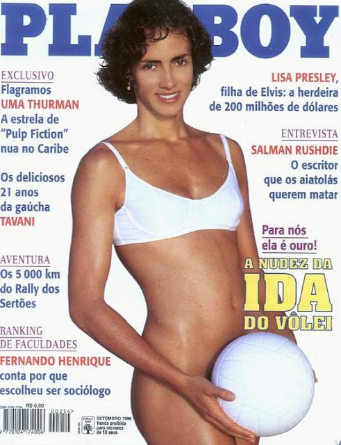 Ida do Vôlei - Playboy 1996