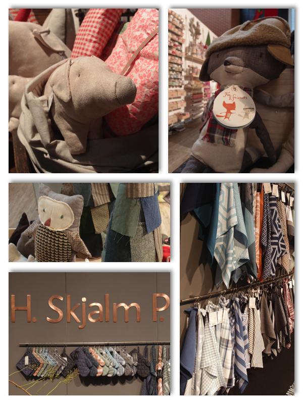 Textiles aus Dänemark Maileg und H.SkjalmP.