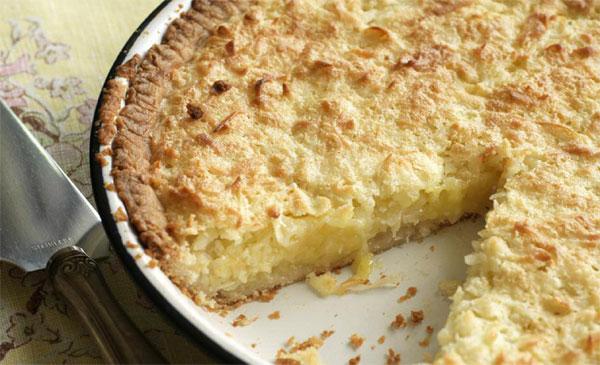 Coconut Pie Recipe ~ Easy Dessert Recipes