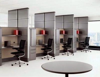 desain meja kantor minimalis 2