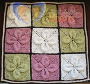 Örnekli 2013 çocuk bebek battaniyesi yapılışı