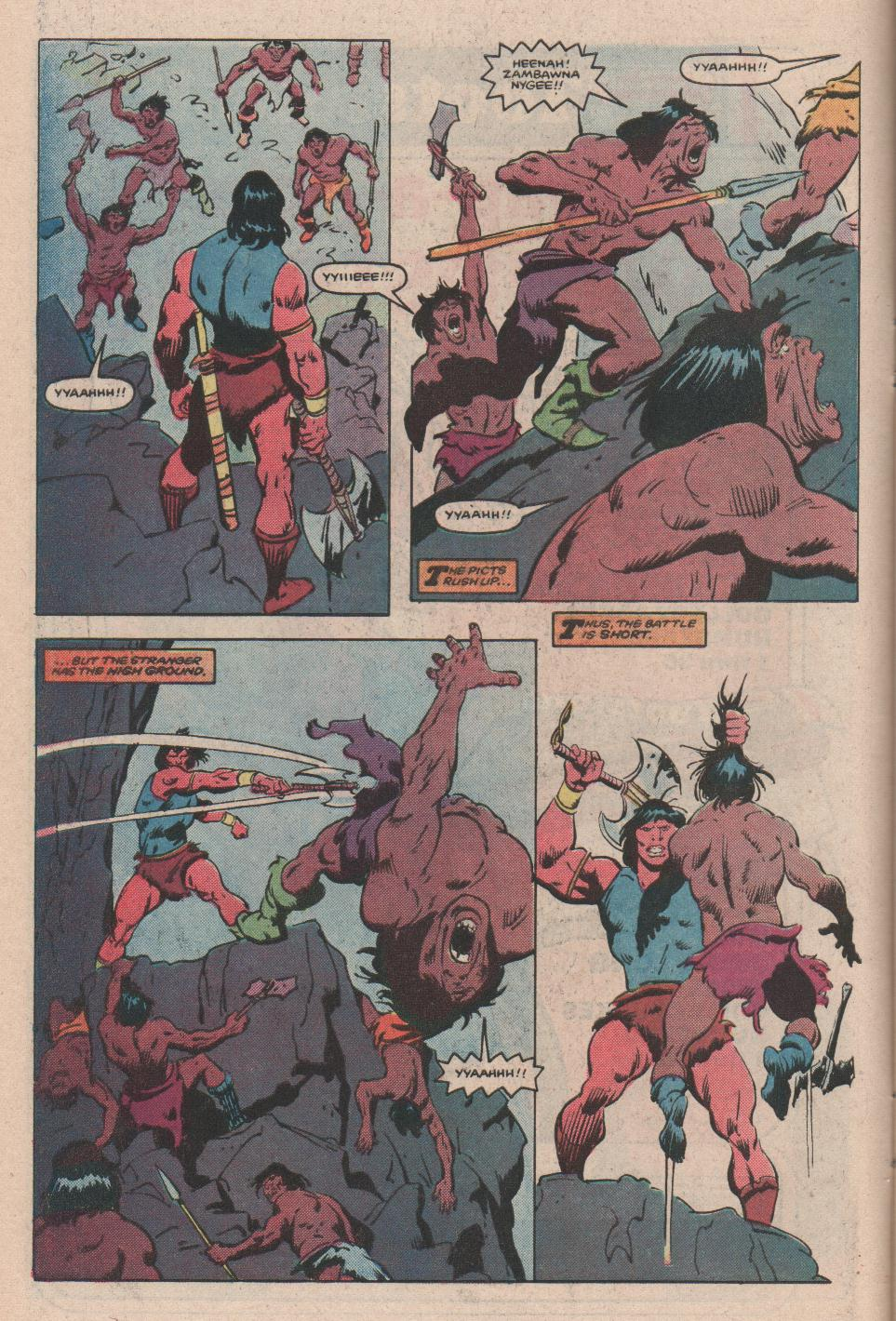 Conan the Barbarian (1970) Issue #172 #184 - English 7
