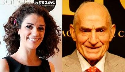 Los actores Saturnino García y Ruth Gabriel 2014