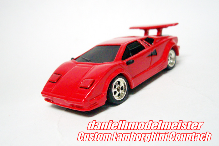 my hot whels custom hotwheels lamborghini countach. Black Bedroom Furniture Sets. Home Design Ideas