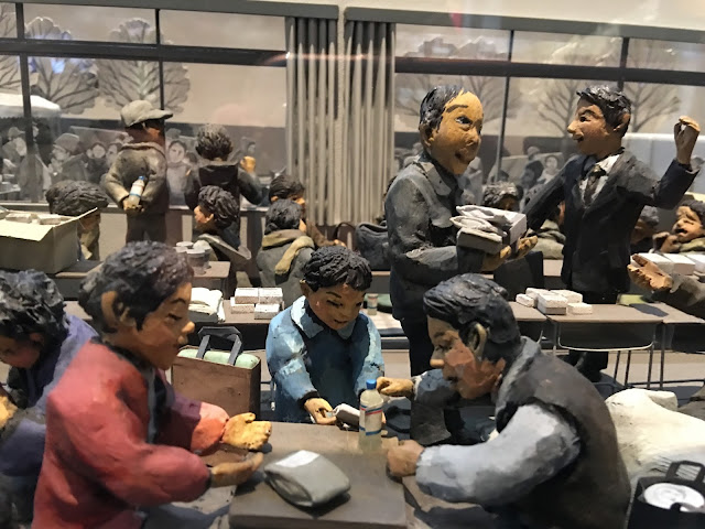 Kobe Disaster Reduction and Human Renovation Institution Earthquake Museum diorama