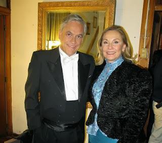 Sebastian Piñera y su esposa Cecilia Morel