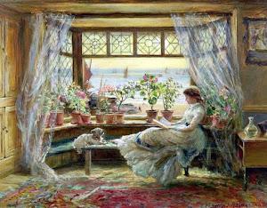 El placer de leer y sentir la naturaleza
