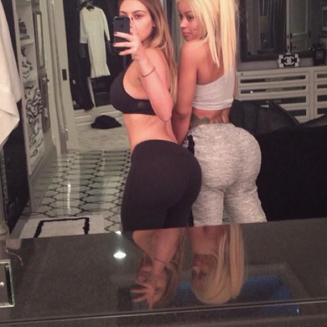 Kim Kardashian nos muestra su gran trasero en las redes sociales