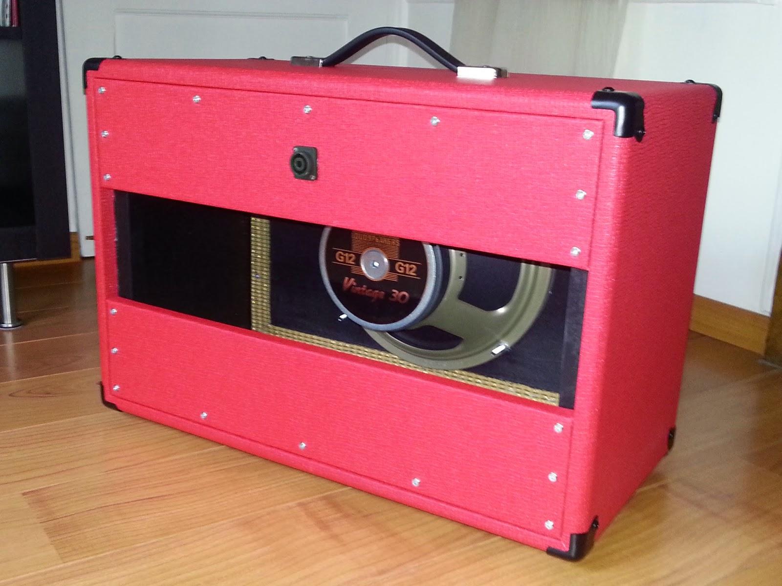Rezzonics: DIY 1x12'' Cabinet Speaker - Vintage 30 8Ω 2'' speaker