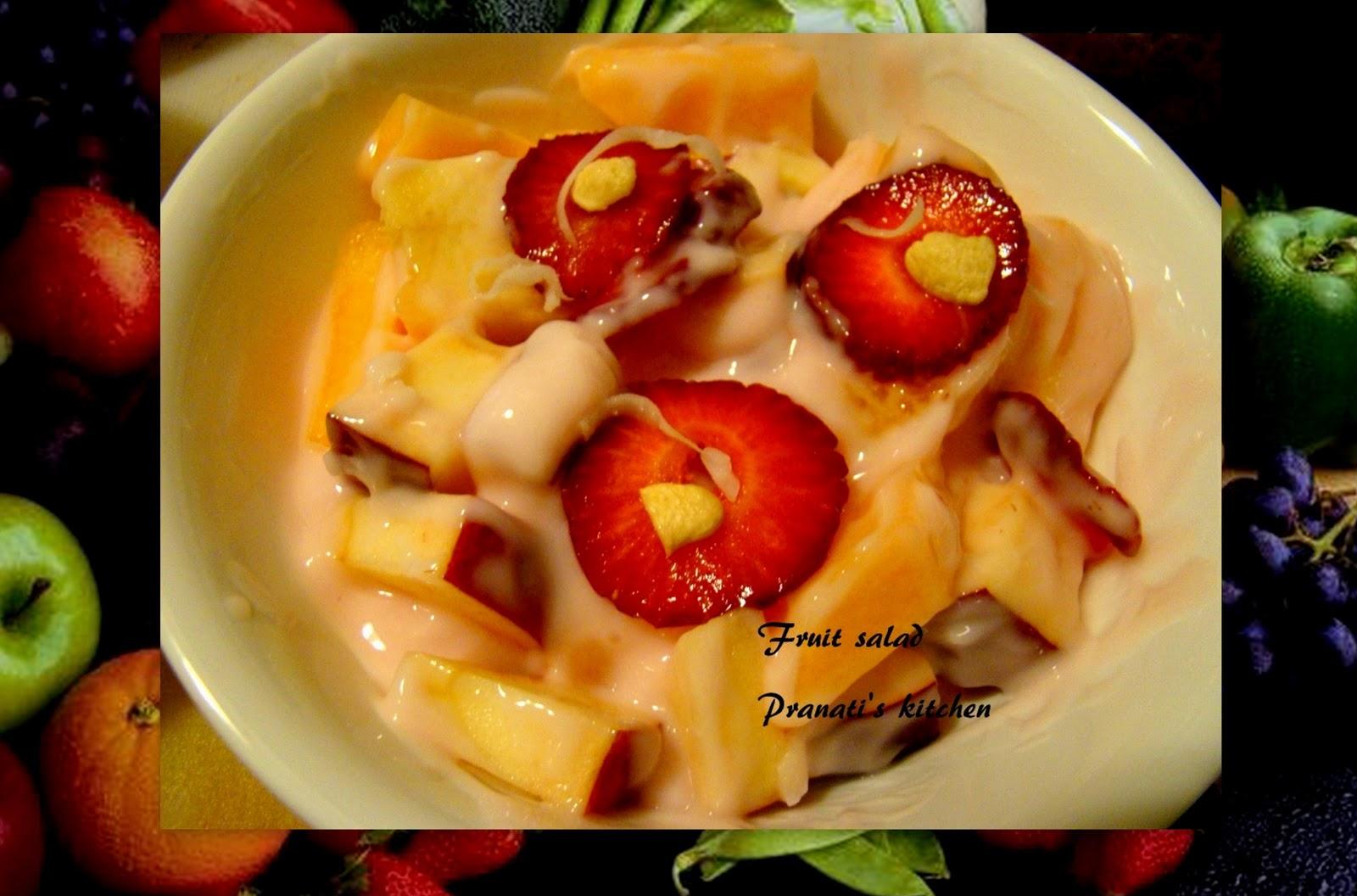 Fruit salad yummy youtube - 1