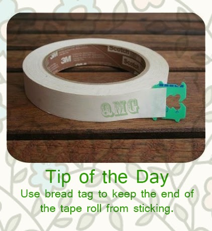 Stop tape roll from sticking