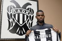 Razzagui camara avec PAOK Salonique