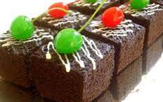 resep praktis (mudah) kue brownies coklat keju panggang spesial enak, legit, lezat